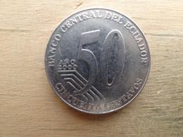 Equateur  50  Centavos  2000  Km 108 - Equateur