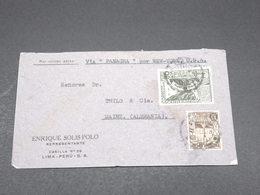 PEROU - Enveloppe Commerciale De Lima Pour L 'Allemagne En 1938 - L 17279 - Pérou