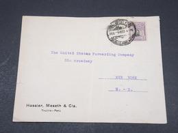 PEROU - Enveloppe De Trujillo Pour New York En 1920 - L 17280 - Pérou