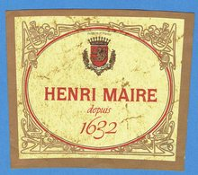 39- Arbois - Henri Maire Depuis 1632 - Rotwein