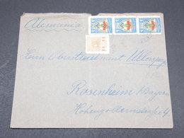 PARAGUAY - Enveloppe Pour L Allemagne En 1937 - L 17289 - Paraguay