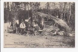 CPA MILITARIA Les Habitations De Nos Soldats En Campagne Le Tailleur - Guerre 1914-18