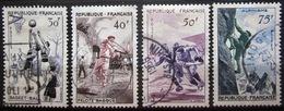 FRANCE              N° 1072/1075              OBLITERE - Gebruikt