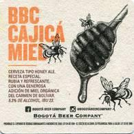 Lote 426, Colombia, Posavaso, Coaster, Bogota Beer Company, Cajica Miel - Beer Mats