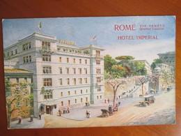 Rome . Hotel Imperial - Bar, Alberghi & Ristoranti
