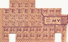 Tickets De Rationnement Denrées Diverses Décembre  1947 - Documents