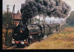 Elan Du Confluent -- Vapeurs En Europe -- 141 R 1187 -- Train Special 12/73 - Trains