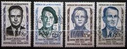 FRANCE              N° 1157/1160              OBLITERE - Gebruikt