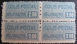 DF/914 - 1926 - COLIS POSTAUX - BLOC DE 4 TIMBRES N°79 NEUFS* - Cote : 140,00 € - Neufs