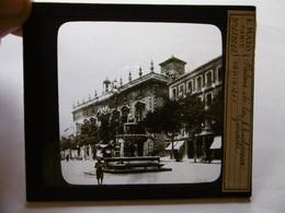 ESPAGNE GRANADA PALACIO DE LA AUDIENCIA SUPERBE PHOTO PLAQUE DE VERRE  10 X 8.5 - Glass Slides
