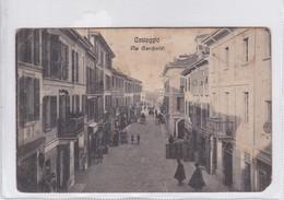 CASTEGGIO. VIA GARIBALDI. CIRCULEE TO BUENOS AIRES. ITALIA-BLEUP - Italy