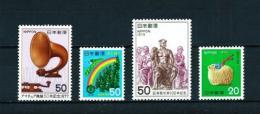 Japón  Nº Yvert  1238-1257-1269-1278  En Nuevo - 1926-89 Emperor Hirohito (Showa Era)