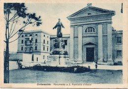 Roma - Civitavecchia - Monumento A S.Francesco D'Assisi - Fg Vg - Civitavecchia