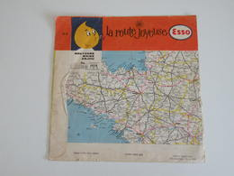 Esso - La Route Joyeuse - Pochette De 45 T Vite (sans Vinyle) - Unclassified