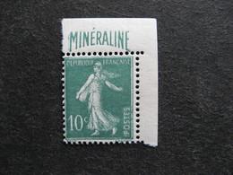TB N°188A, Neuf XX. - France