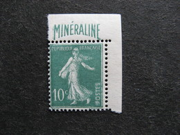 TB N°188A, Neuf XX. - Unused Stamps