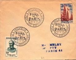 Foire De Paris -  Philatélie Parc Des Expositions  -13 5 59 - SC73-6 - FDC