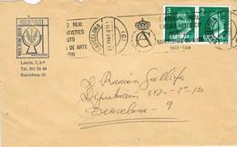 28714. Carta BARCELONA 1981. Rodillo Especial Real Circulo Artistico Instituto ARTE - 1931-Hoy: 2ª República - ... Juan Carlos I