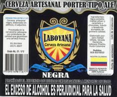 Lote EC57, Colombia, Beer Label, Cerveza Artesanal Laboyana, Pitalito, Huila, 6 Diferentes, Etiqueta De Cerveza - Cerveza