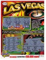 GRATTA E VINCI  - LAS VEGAS - DA €3.00 - USATO (nota Retro Diverso) - Biglietti Della Lotteria