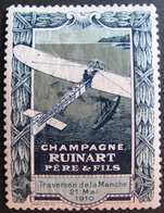 DF/922 - VIGNETTE NEUVE* - TRAVERSEE DE LA MANCHE PAR BLERIOT 21 MAI 1910 - CHAMPAGNE RUINART PERE ET FILS - Other