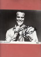 AUTOGRAMM Harry Belafonte Filmschauspieler Filmstar Kino AUTOGRAPH - Autographs