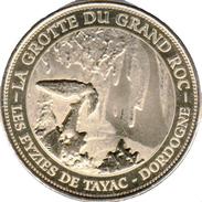 24 DORDOGNE LES EYZIES DE TAYAC GROTTE DU GRAND ROC MÉDAILLE MONNAIE DE PARIS 2013 JETON MEDALS TOKEN COINS - Monnaie De Paris