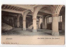 NELS Série 36 N° 6 - LOUVAIN - Les Halles (salle Des Pas-perdus) * Colorisée* - Belgique