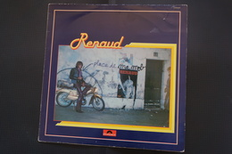 RENAUD LAISSE BETON LP    DE 1977 POCHETTE VERSO MOTO - Vinyl Records