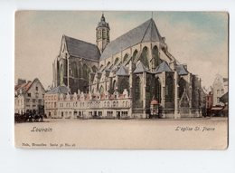 NELS Série 36 N° 16 - LOUVAIN - L'église St. Pierre * Colorisée* - België