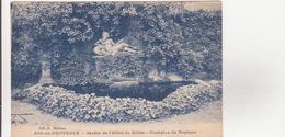 CPA - AIX EN PROVENCE   - Jardin De L'hôtel De Ribbe - Fontaine De Neptune - Aix En Provence