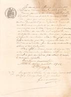 Manuscrit Concernant Un Pouvoir Du 16 Juillet 1912 à Albi - Manuscripts