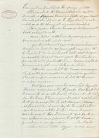 Manuscrit Du 15 Juillet 1912 à Albi - Manuscripts