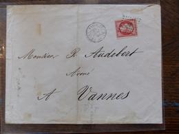 22.05.18-   LSC De Paris Rare Cachet HS1,et Cachet  (GS0 HS1) Sur N°17A - Postmark Collection (Covers)