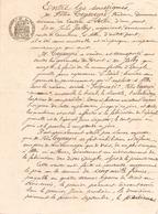 Manuscrit Du 5 Mars 1907 à Albi - Manuscripts