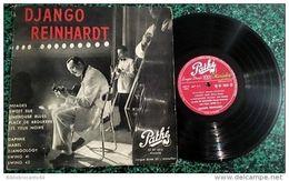 LP 25cm * DJANGO REINHARDT *PATHE ST 1012 < NUAGES /SWEET SUE /LIMEHOUSE BLUES Etc... - Jazz
