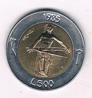 500 LIRE 1985 SAN MARINO /2838G/ - San Marino