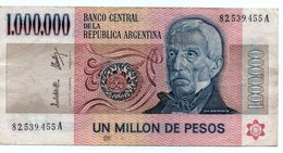 ARGENTINA 1 MILLION PESOS LEY-1982 P-310a - Argentina