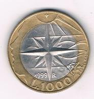 1000 LIRE 1999 SAN MARINO /2840G/ - San Marino