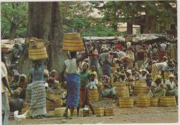 Burkina Faso Haute-volta  En Pays  Lobi Gaoua Scene De Marche - Burkina Faso