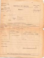 Bulletin Service De Santé Du 1 Septembre 1916 - Documents