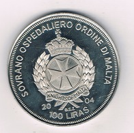 100 LIRAS 2004 MALTA /2841G/ - Malta