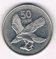 50 THEBE 1998 BOTSWANA /2842G/ - Botswana