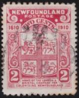 Newfoundland  .    SG   .      107     .       O      .  Gebruikt      .    /   .   Cancelled - Newfoundland