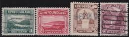 Newfoundland  .    SG   .     149/152      .       O      .  Gebruikt      .    /   .   Cancelled - Newfoundland