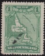 Newfoundland  .    SG   .      164      .       O      .  Gebruikt      .    /   .   Cancelled - Newfoundland