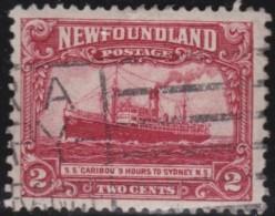 Newfoundland  .    SG   .      165      .       O      .  Gebruikt      .    /   .   Cancelled - Newfoundland