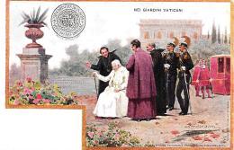 [DC11890] CPA - NEI GIARDINI VATICANI - PERFETTA - Non Viaggiata - Old Postcard - Papi