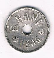 5 BANI 1906 J   ROEMENIE /2846G/ - Romania