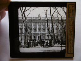 ESPAGNE MADRID PALACIO DEL REY SUPERBE PHOTO PLAQUE DE VERRE  10 X 8.5 - Glass Slides